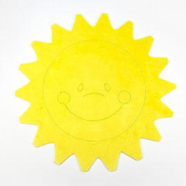 Kostenloses Schnittmuster Sonne - Schritt 2 Ergebnis