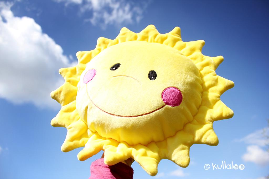 Sonne nähen: kostenloses Schnittmuster Sonne \