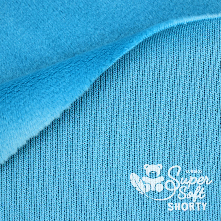 Minky blau - Plüsch Meterware - SuperSoft SHORTY