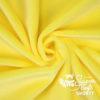 Plüsch gelb Meterware - SuperSoft SHORTY