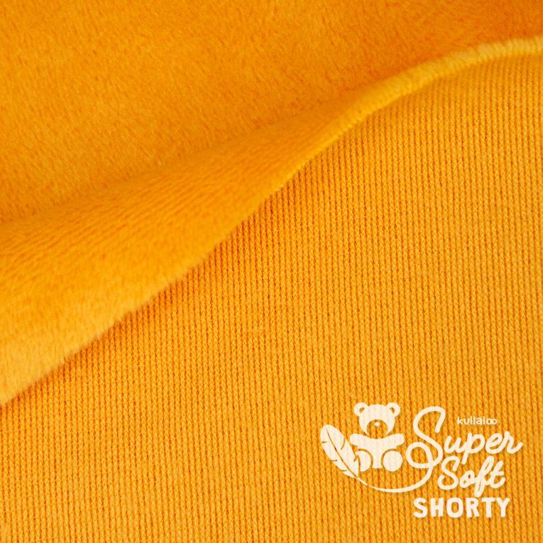 Minky orange - Plüsch Meterware - SuperSoft SHORTY