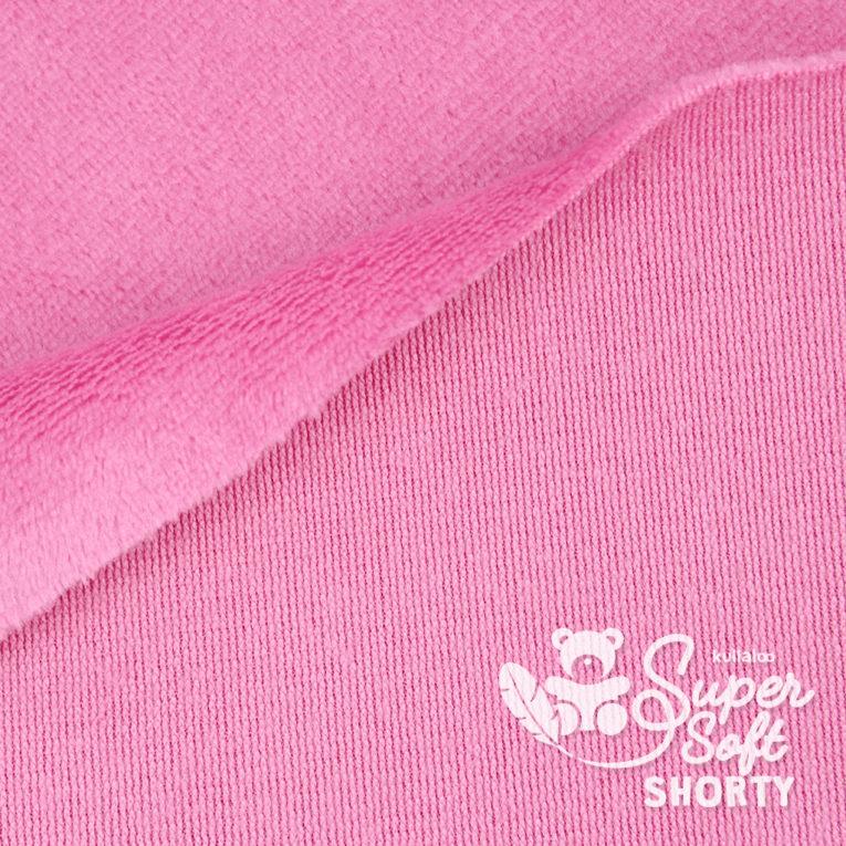 Minky rosa - Plüsch Meterware - SuperSoft SHORTY