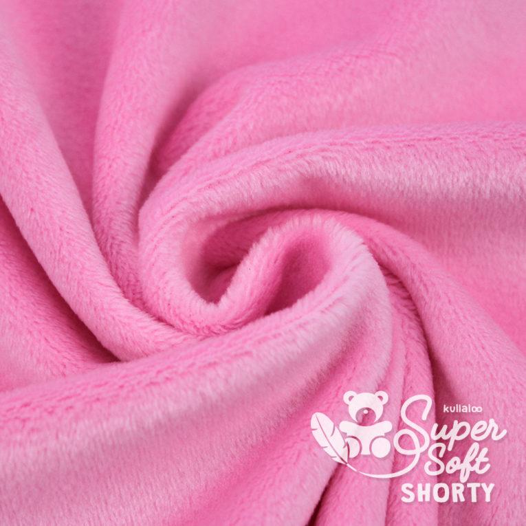 Plüsch Stoff rosa Meterware - SuperSoft SHORTY