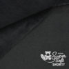 Minky schwarz - Plüsch Meterware - SuperSoft SHORTY