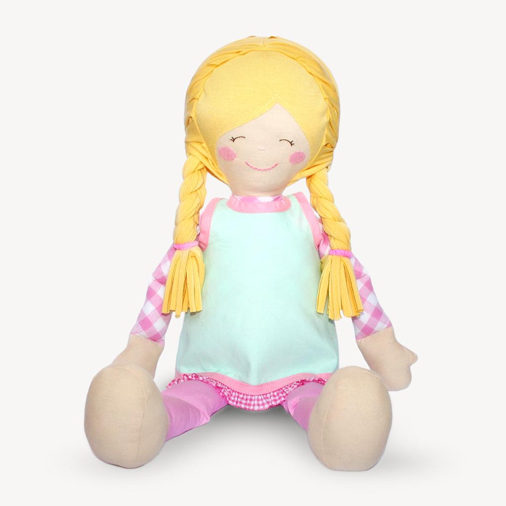 "Nähanleitung Puppe ""LULU"""