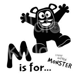 Plotterdatei Monster - MemoMonsti mit Text