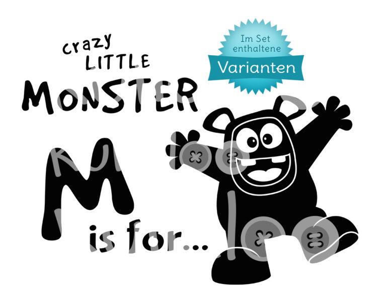 Plotterdatei Monster Varianten