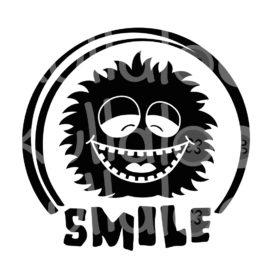 Plotterdatei Smile - Cooler Kuller Smile