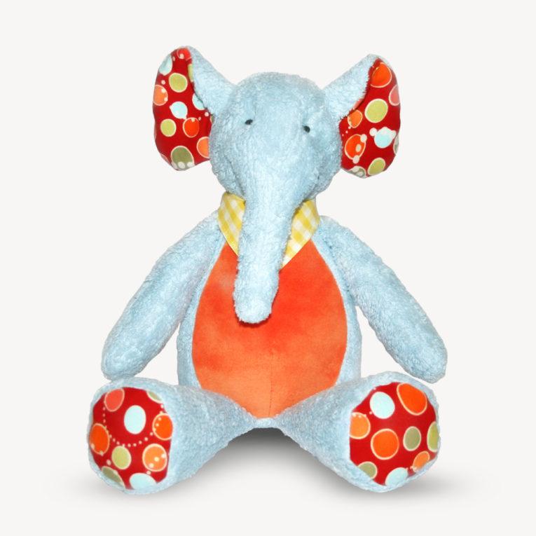"Schnittmuster Elefant ""KUMI"""