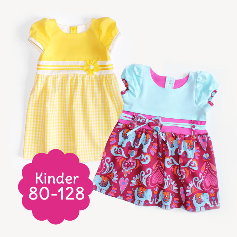 "Schnittmuster Kinderkleid ""SUNNY"""