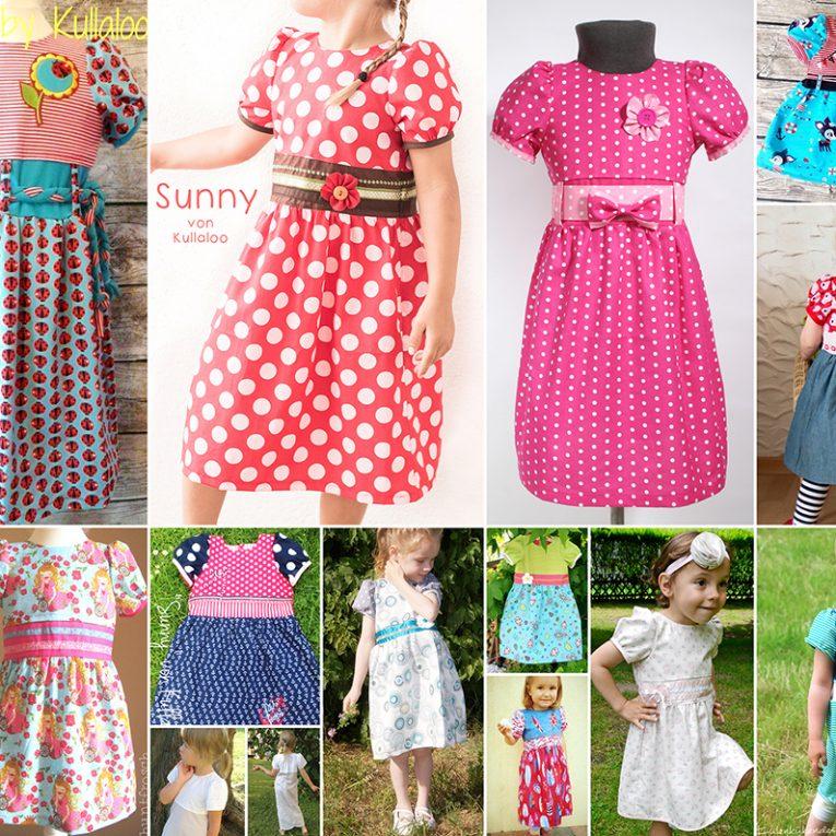 """Schnittmuster Kleid """"SUNNY"""" - Nähbeispiele"""