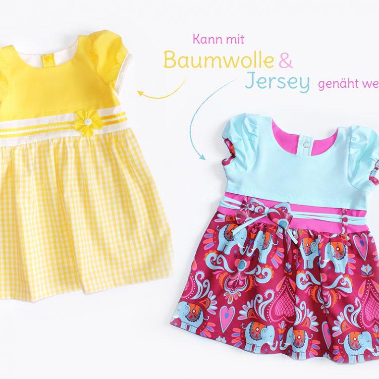 """Schnittmuster Kleid """"SUNNY"""" - verschiedene Varianten"""