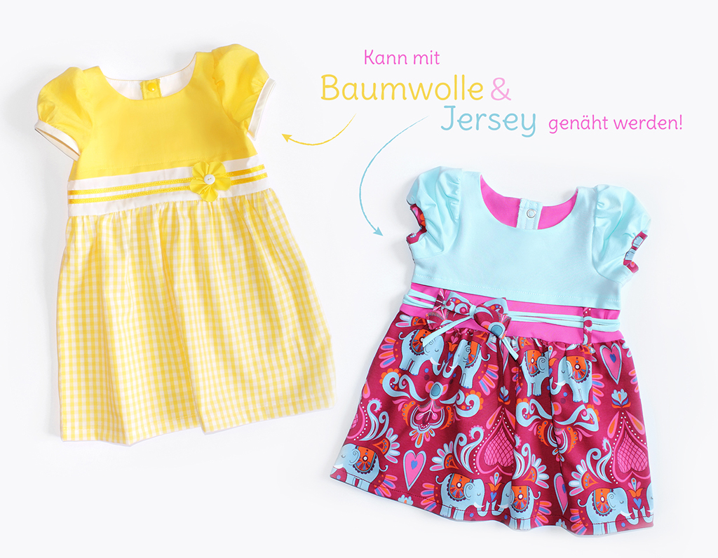 "Schnittmuster Kinderkleid ""SUNNY"" | kullaloo"
