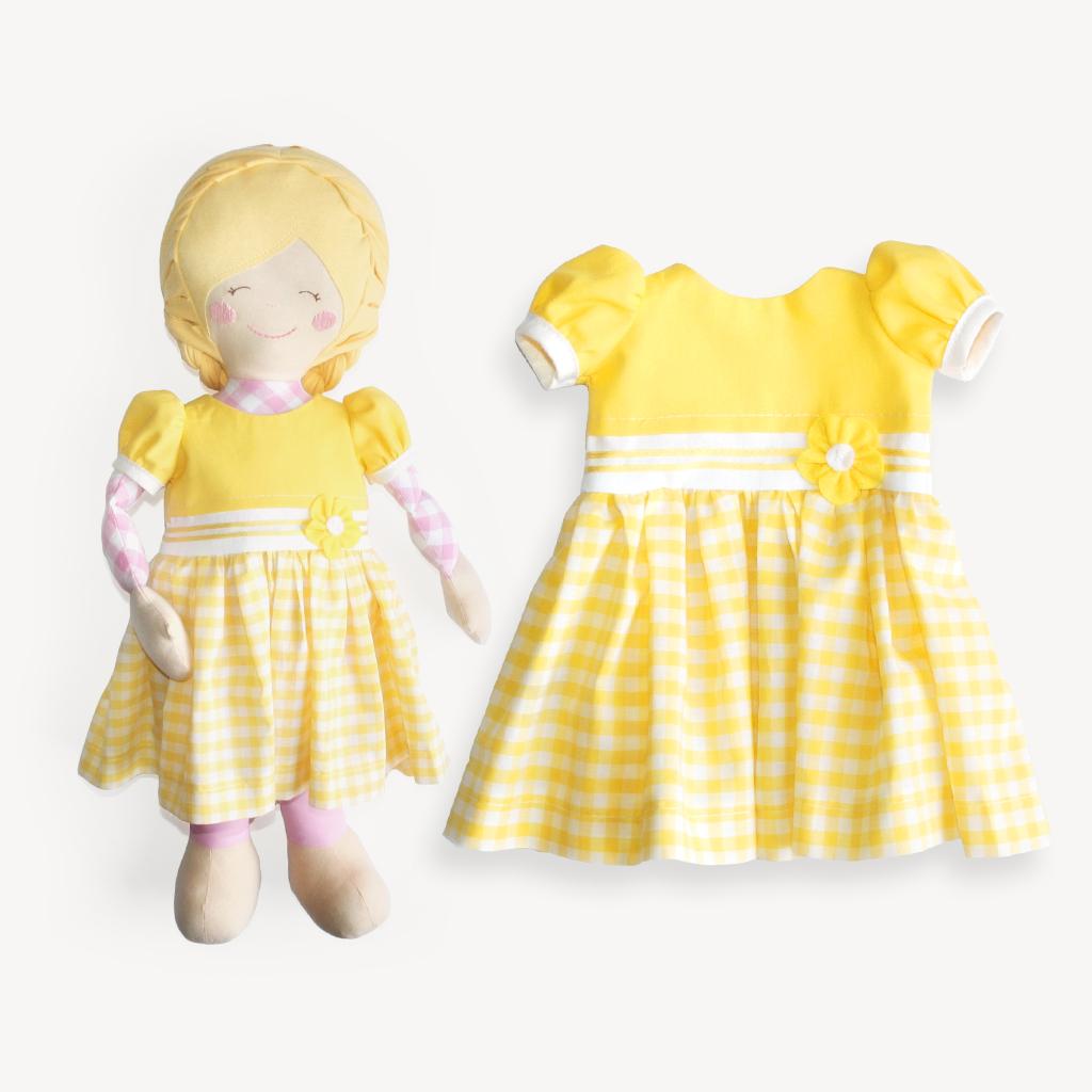 "Schnittmuster Puppenkleid ""SUNNY"" | kullaloo"