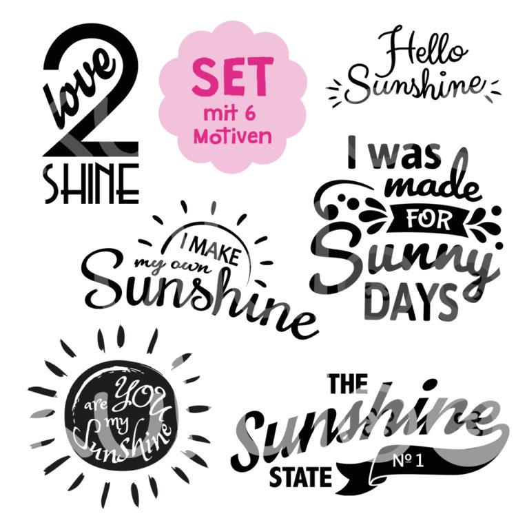 "Plotter Set ""Sunshine"""
