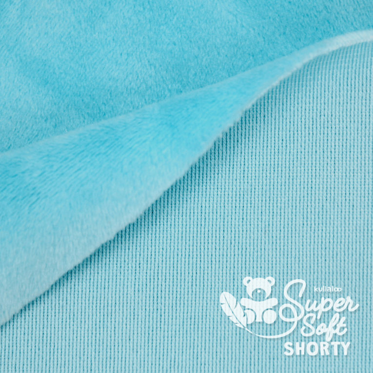Minky türkis - Plüsch Meterware - SuperSoft SHORTY