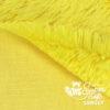 Langhaar Zottelplüsch gelb - Rückseite