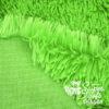 Langhaar Zottelplüsch grün - Rückseite