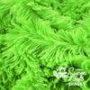 Langhaar Zottelplüsch grün