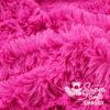 Langhaar Zottelplüsch pink / fuchsia