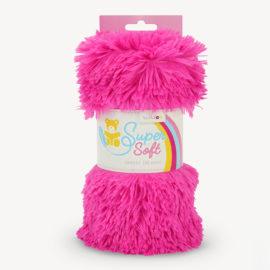 Langhaar Zottelplüsch Stoff pink SuperSoft SHAGGY