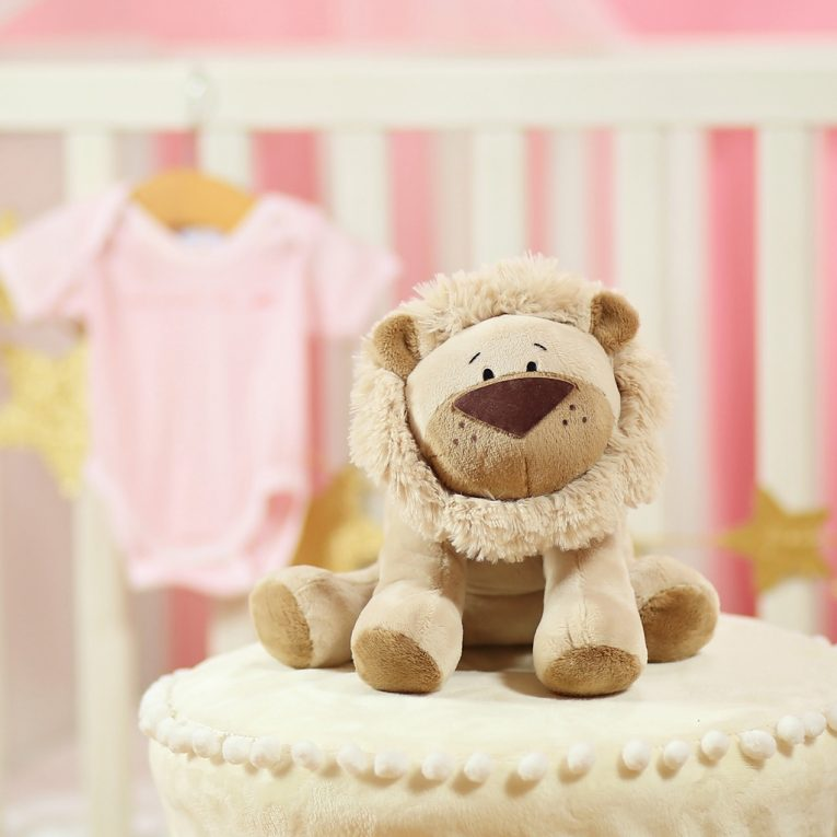 """Nähen für Babys: Löwe """"LUIS"""""""