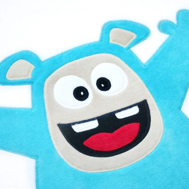 Applikationsvorlage Monster Junge