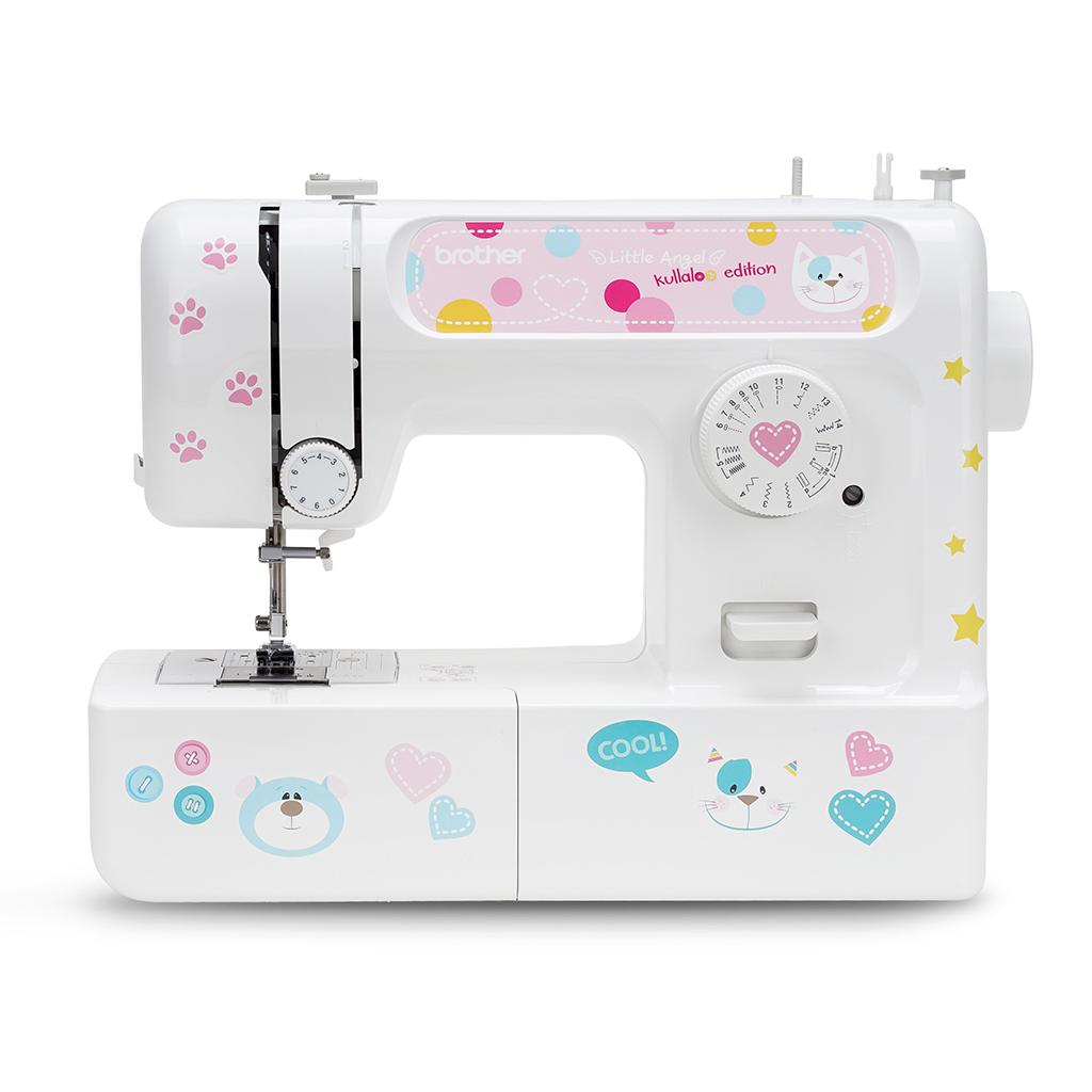 Nähmaschine für Anfänger mit Nähset & coolen Stickern