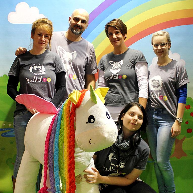 Das kullaloo-Team auf der Kreativ Welt Messe Frankfurt