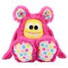 "Nähset Zottelmonster pink / ""Hula Dots"": Genähtes Monster"