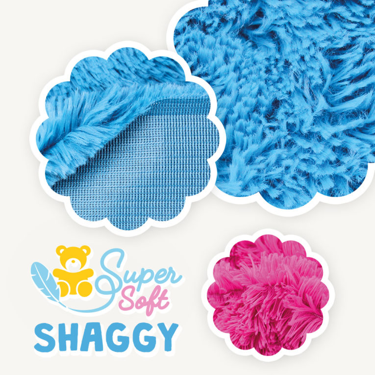 Langhaarplüsch Meterware SuperSoft SHAGGY