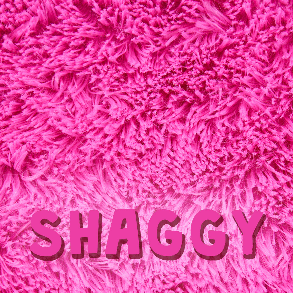 Mikrofaserplüsch kullaloo SuperSoft SHAGGY