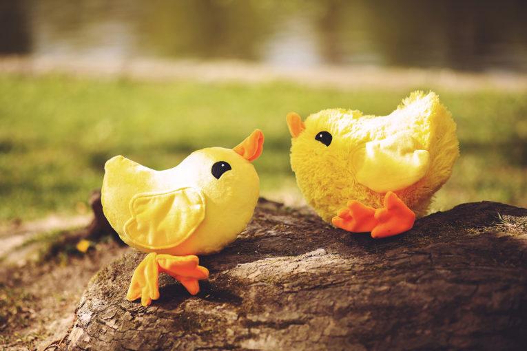 Nähen für Ostern: Stoffhühner nähen