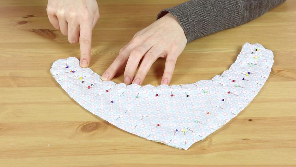 Dreieckstuch / Baby Halstuch nähen für Babys und Kinder | kullaloo