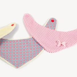Dreieckstuch Schnittmuster / Halstuch für Baby nähen