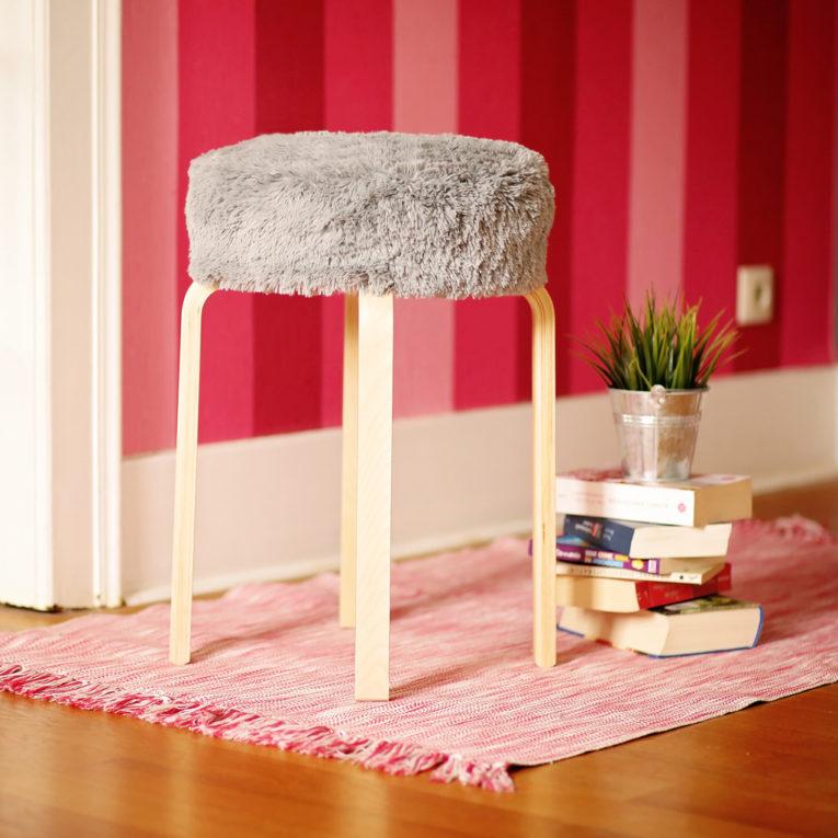 IKEA FROSTA Sitzkissen nähen für Hocker