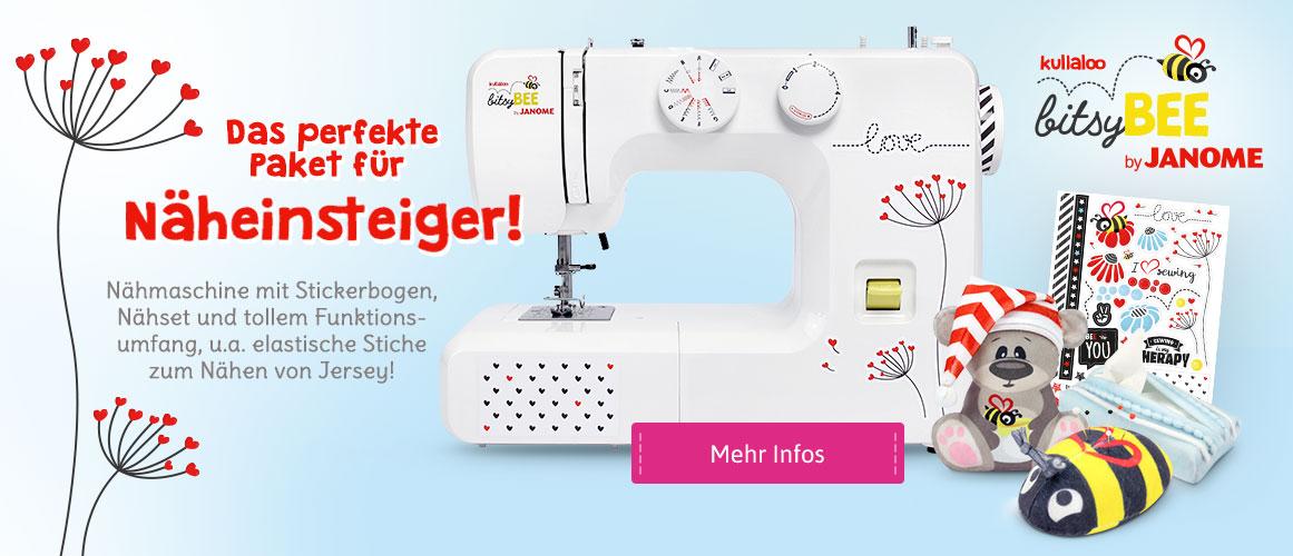 Einsteiger-Nähmaschine bitsyBEE