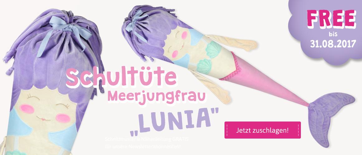 Schultüte Meerjungfrau Freebook
