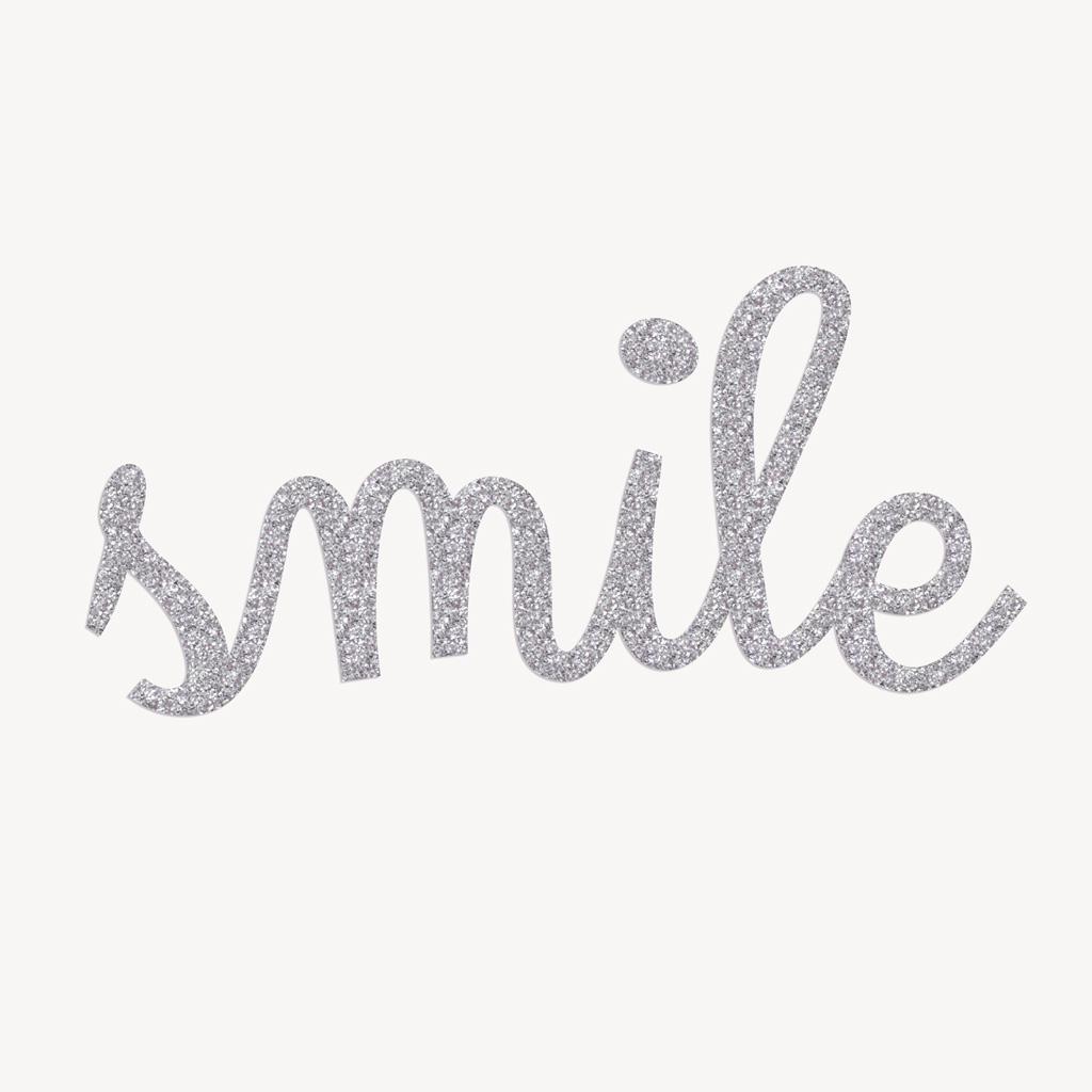 aufb gler bestellen b gelbild smile in glitzer kullaloo. Black Bedroom Furniture Sets. Home Design Ideas