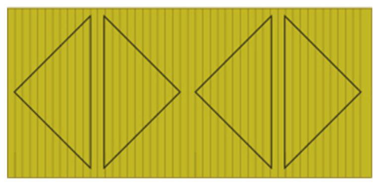 "Kissen selber nähen: Schnittmuster und Nähanleitung ""Geometric Stripes"""