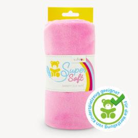 Minky / Microfaser Plüschstoff rosa - SuperSoft SHORTY