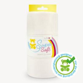 Plüschstoff weiß – 1,5 mm SuperSoft SHORTY