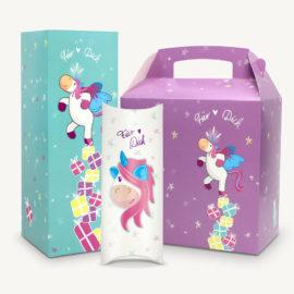 Geschenkboxen kaufen: Einhorn Geschenkschachtel Set