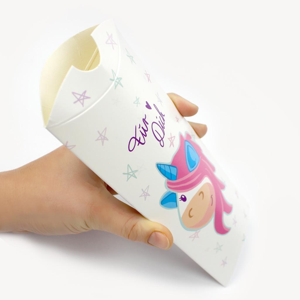 Geschenke sch n verpacken mit tollem einhorn geschenkschachtel set - Einhorn geschenkverpackung ...