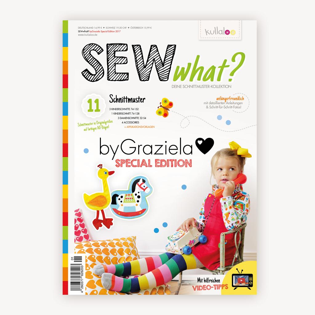 Nähmagazin SEWwhat? – byGraziela Edition | kullaloo