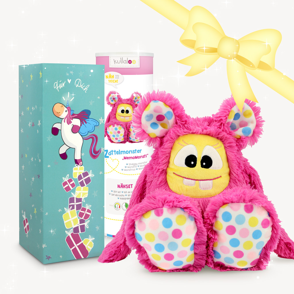 Geschenkschachtel flaschenschachtel mit einhorn motiv kullaloo - Einhorn geschenkverpackung ...