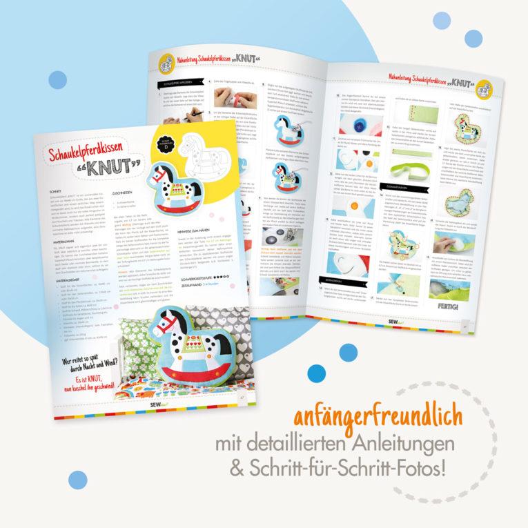 Anfängerfreundliche Schnittmuster Zeitschrift/ Nähmagazin SEWwhat? 2017 byGraziela Special Edition