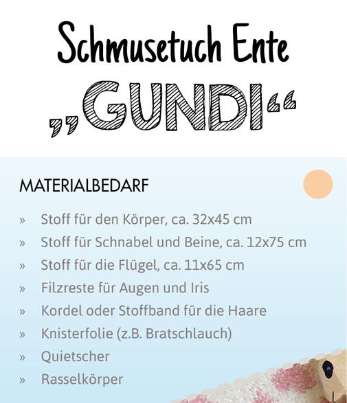 SEWwhat? byGraziela Edition: Materialverbrauch Schnittmuster Ente
