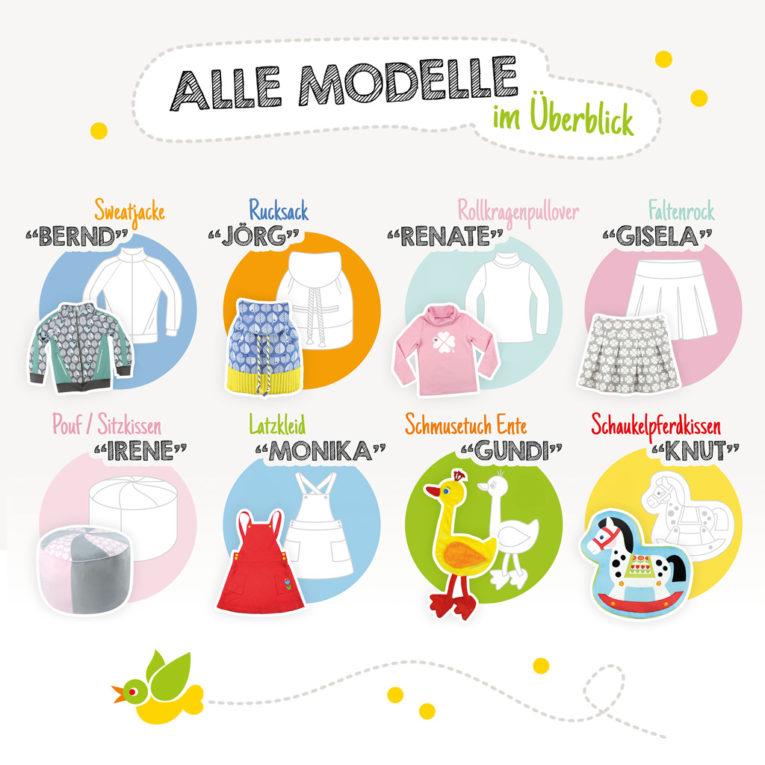 Modellübersicht - SEWwhat? 2017 byGraziela Special Edition - Zeitschrift nähen