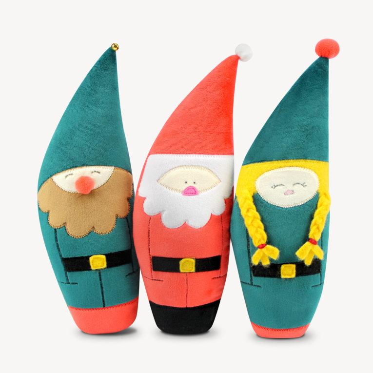Kostenloses Schnittmuster zum Wichtel / Weihnachtsmann nähen
